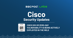 Cisco IOS XR Zero Day Vulnerabilities Being Actively Exploited in the Wild