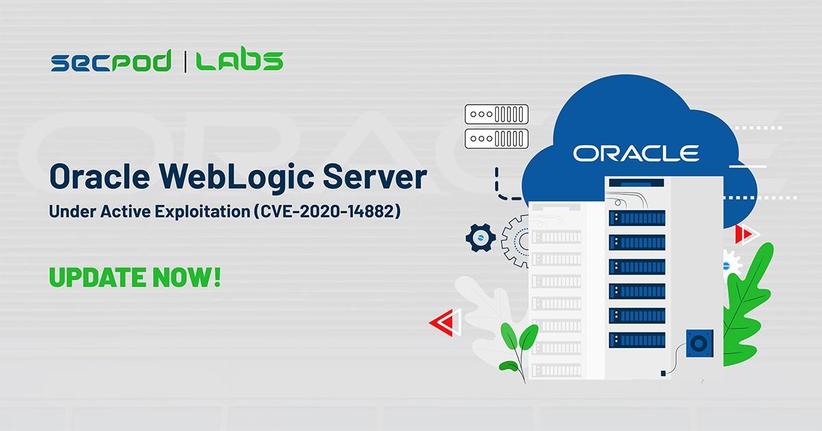 Oracle WebLogic Server Under Active Exploitation (CVE-2020-14882)