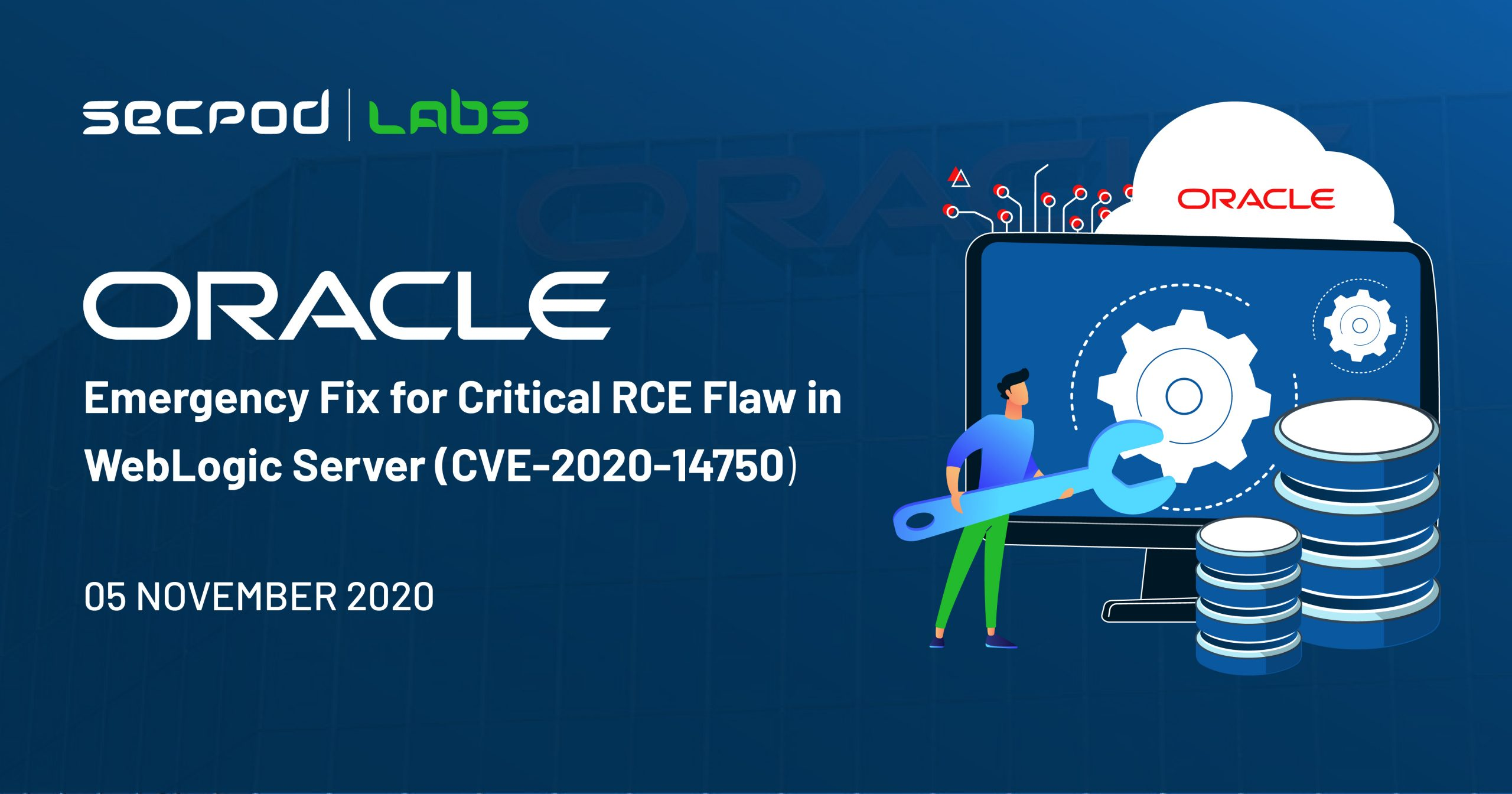 Oracle Emergency Fix for Critical RCE Flaw in WebLogic Server