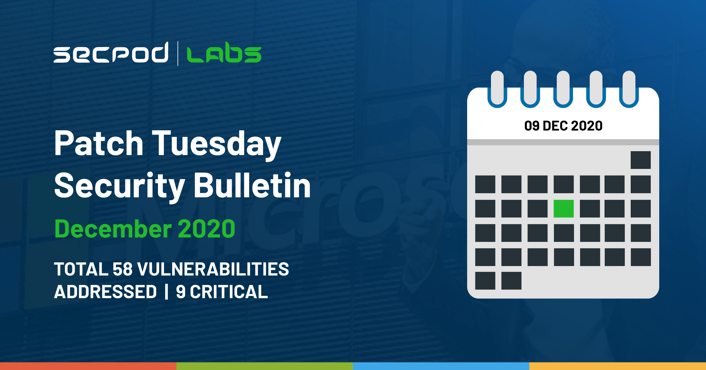 Patch Tuesday: Microsoft Security Bulletin Summary for December 2020