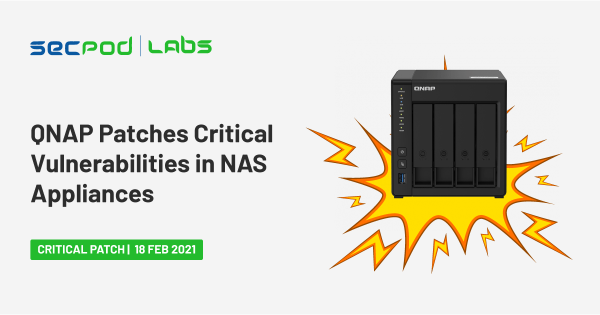 QNAP Patches Critical Vulnerabilities in NAS Appliances