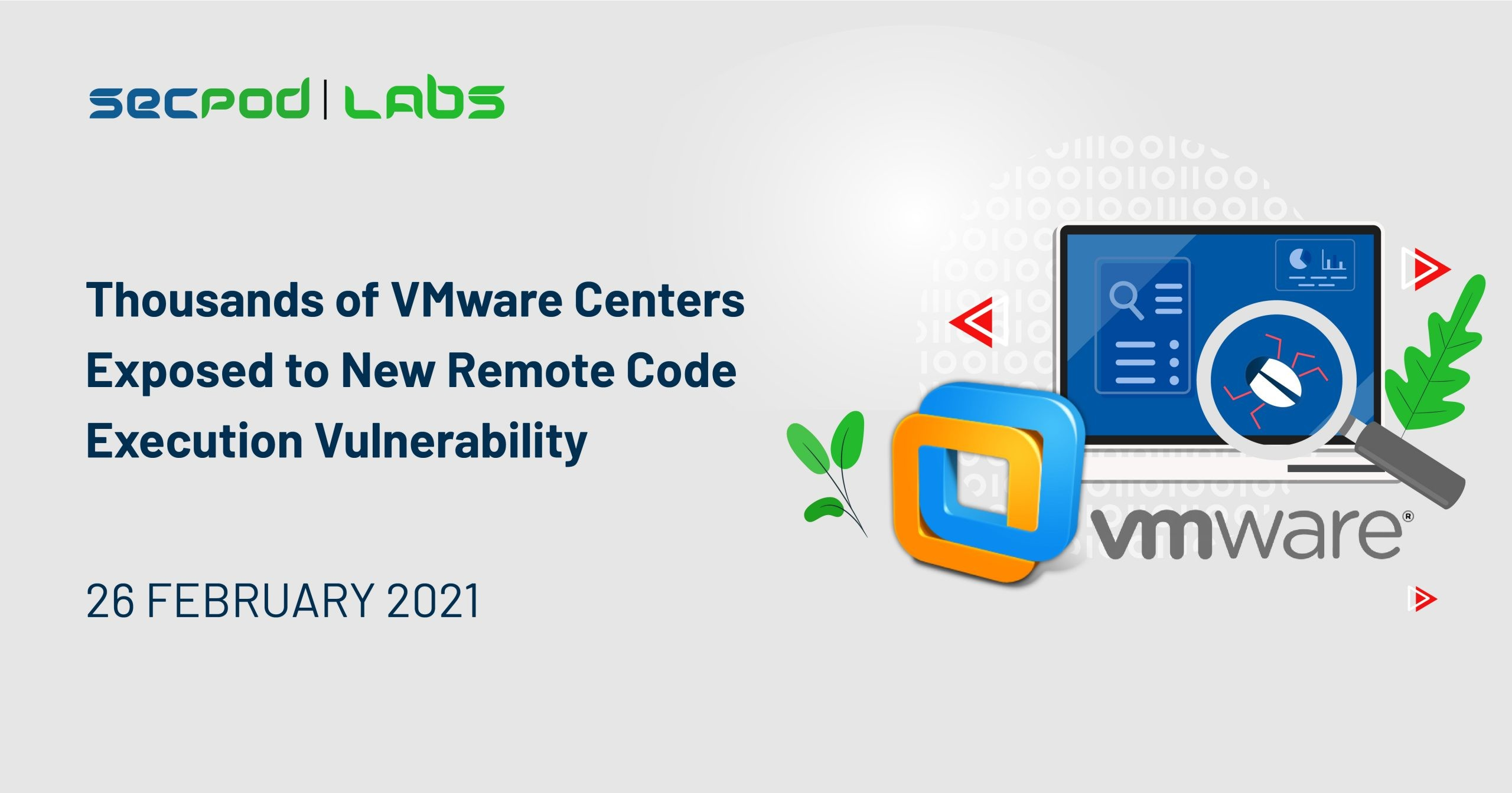Thousands of VMware Centers Exposed to New Remote Code Execution Vulnerability