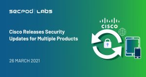 Cisco Releases Security Updates for Multiple Products