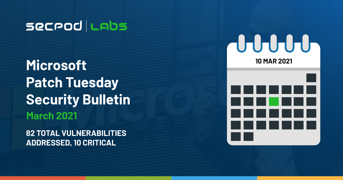 You are currently viewing Patch Tuesday: Microsoft Security Bulletin Summary for March 2021