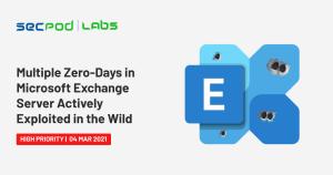 Multiple Zero-Days in Microsoft Exchange Server Actively Exploited in the Wild