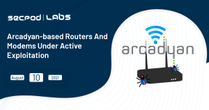 Read more about the article Arcadyan-Based Routers and Modems Under Active Exploitation