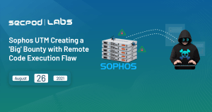 Read more about the article Sophos UTM Creating a 'Big' Bounty with Remote Code Execution Flaw