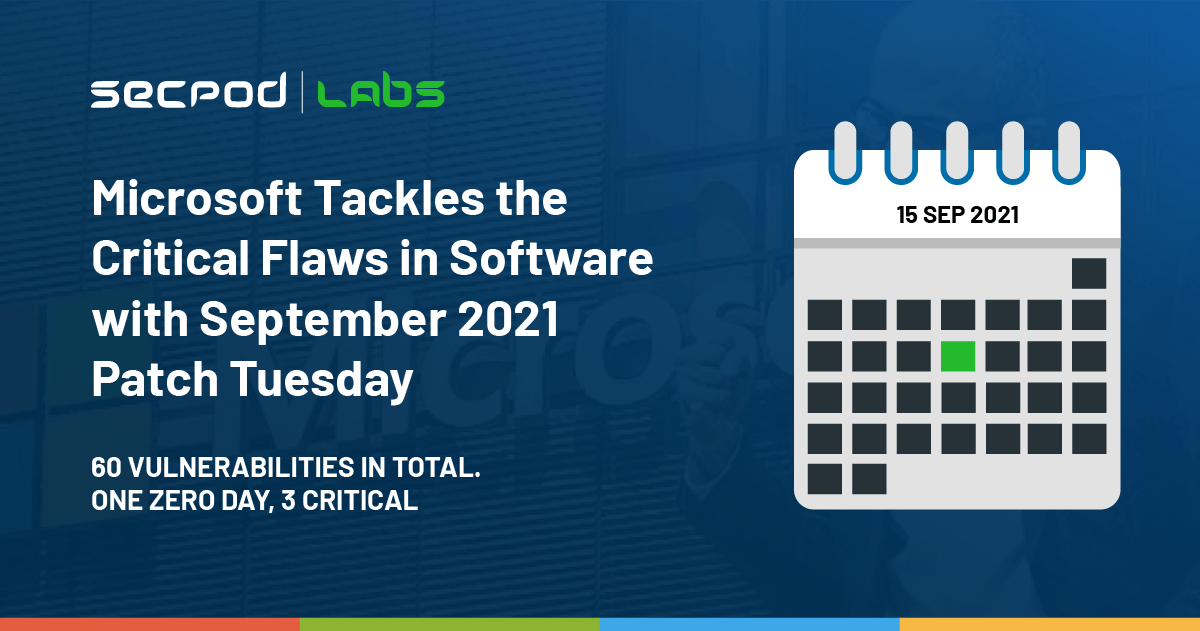 You are currently viewing Microsoft September Patch Tuesday Addresses 60 CVEs Including 3 Critical