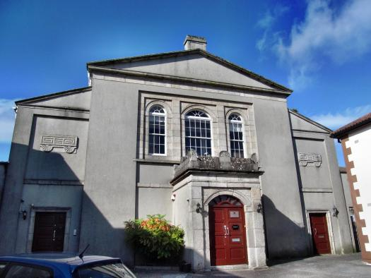 The former Parochial Hall, now in private use