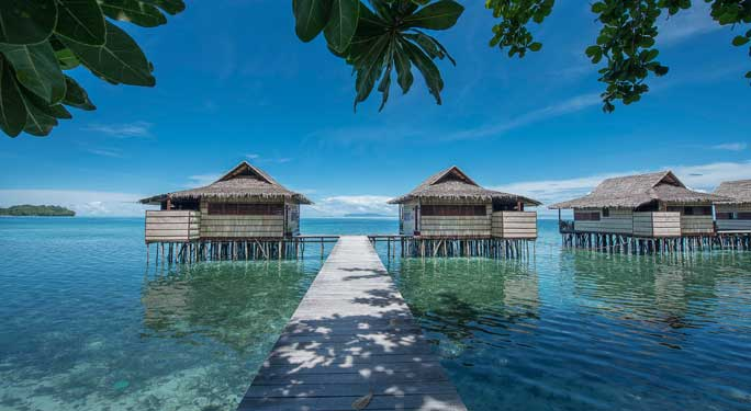 Papua Paradise Eco Resort Secret Retreats