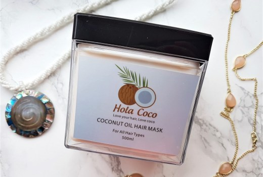coconut oil hair mask coco hola