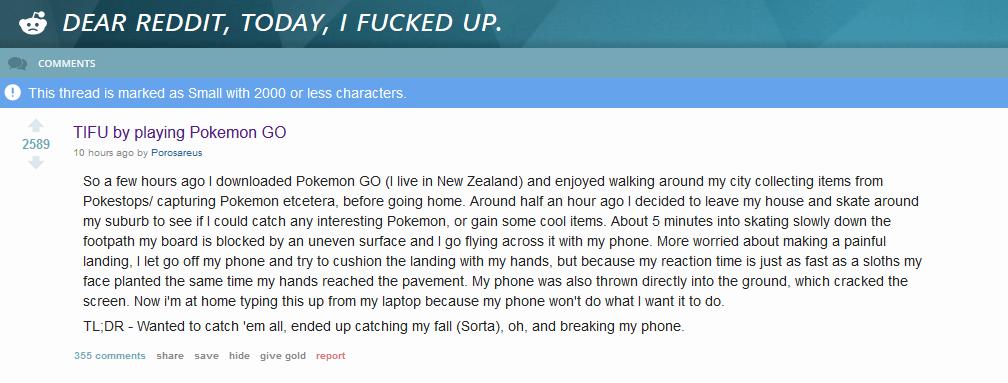 pokemon go claims its