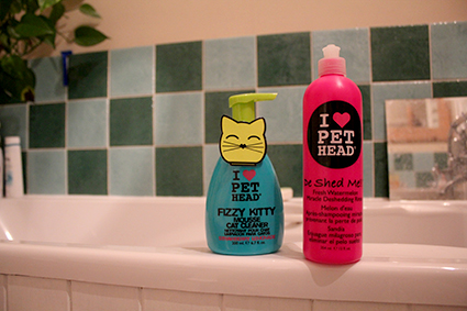 cat grooming products