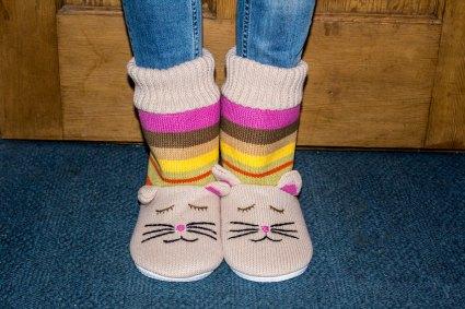 cat-slippers