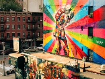 rainbow graffitti