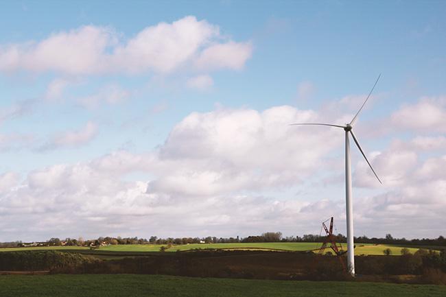 wind turbine leighton