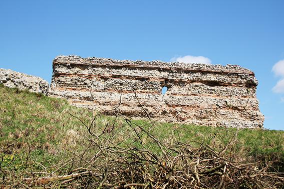 Burgh Castle Ruin