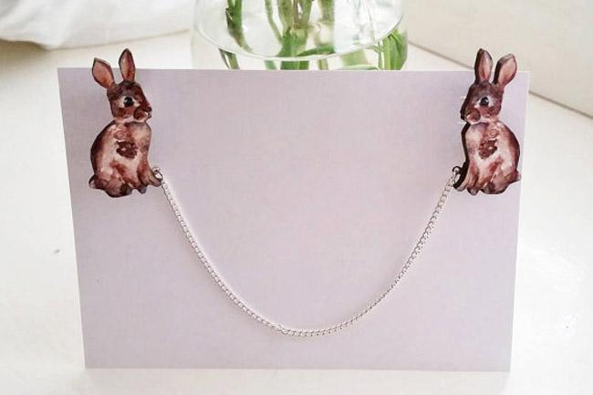 bunny collar clips
