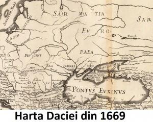 harta Dacia 1669 1