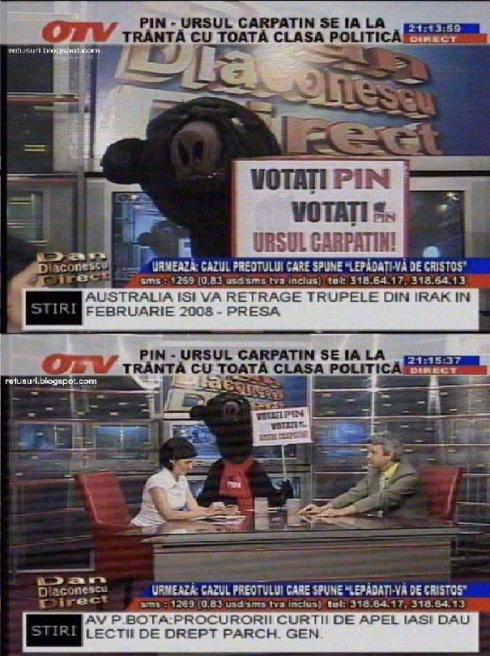 Plimbatul ursului la OTV
