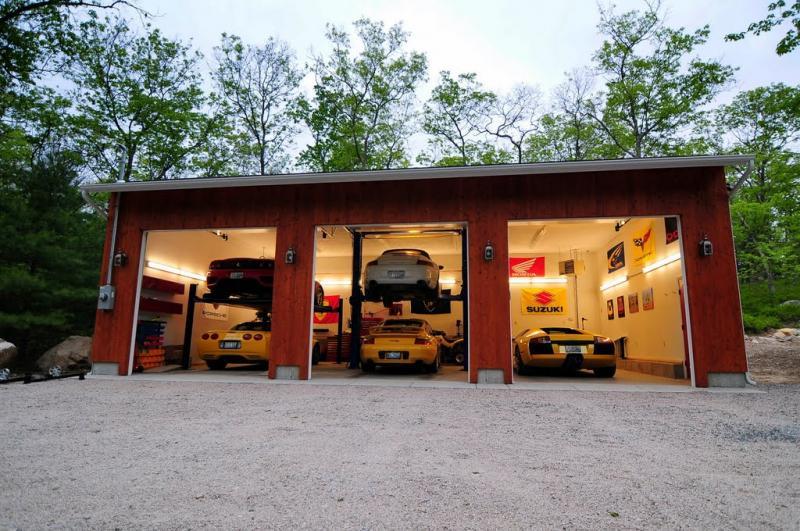 100 Ultimate Dream Car Garages Part 1