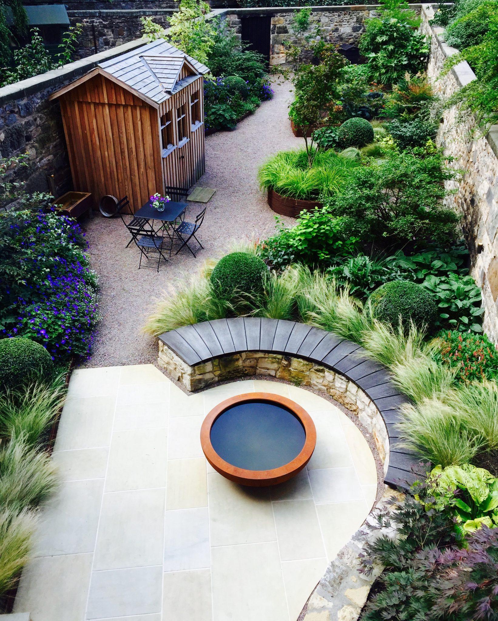 Garden Design  Secret Gardens  Eton Terrace