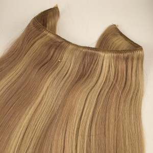 Hair extensions dark blonde