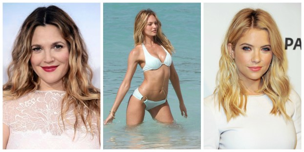 celebrity summer beach hair