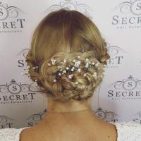 wedding hair clip in extensions clip in hair extensions ...