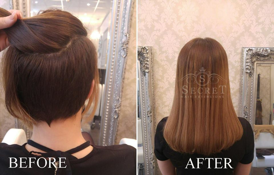 Hair Extensions For Short Hair 2 Secret Hair Extensions