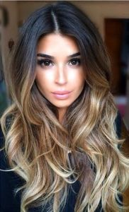Perfect Ombre Hair Balayage Hair Extensions