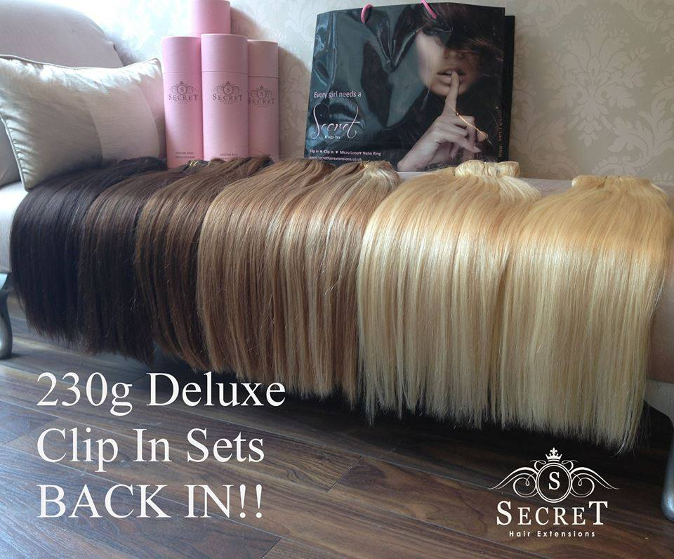 230g Clip In Hair Extensions Secret Hair Extensions