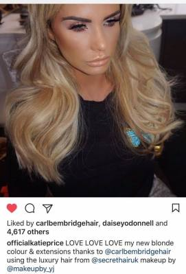 celebrity stylist carl bembridge for secret hair extensions katie price