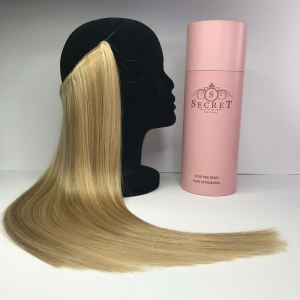 flip in hair extensions blonde