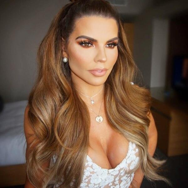 Tanya bardsley Celebrity Wearing Secret Hair Extensions