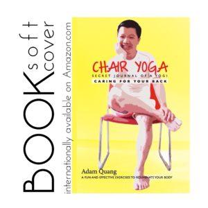 1 Adam Quang Secret Journal of a yogi chair yoga book - soft cover via Amazon - IMG_2153