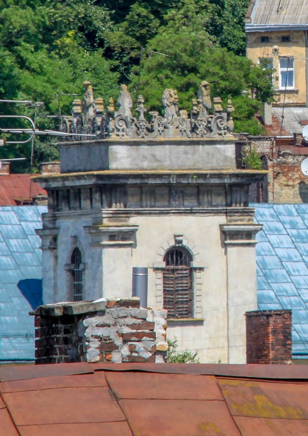 Башня монастыря Бенедиктинок