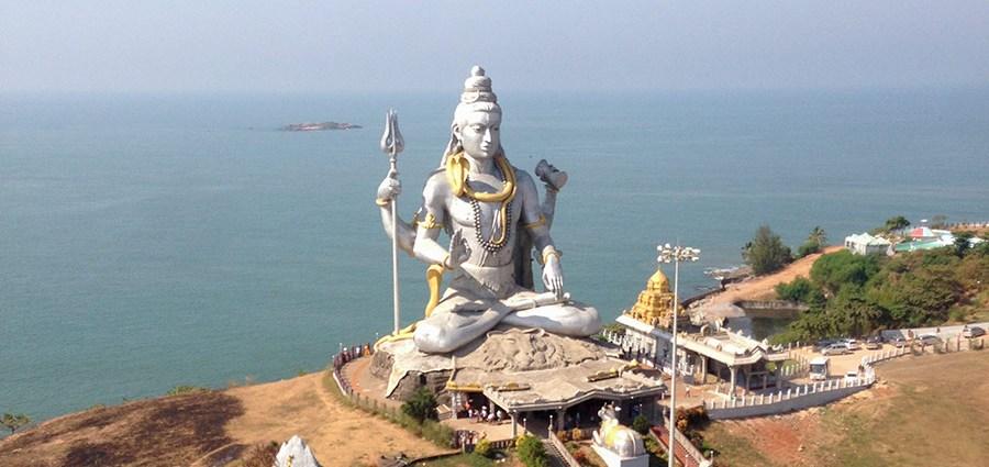 37 метровая статуя Шивы