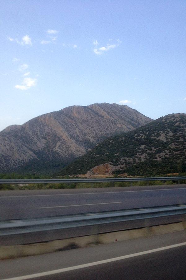 Горные дороги Турции