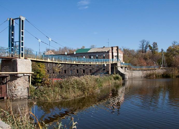 Двойная мельница в Городище-Пустоваровском
