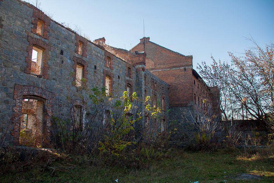 Здание мельницы в селе Бушево