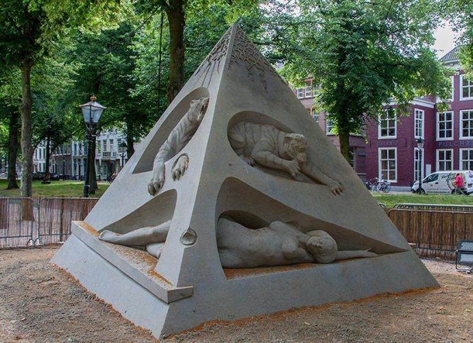 Гаага песочные скульптуры