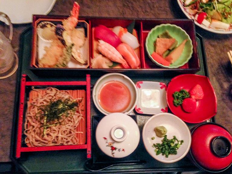 Ужин в ресторане Kaikatei