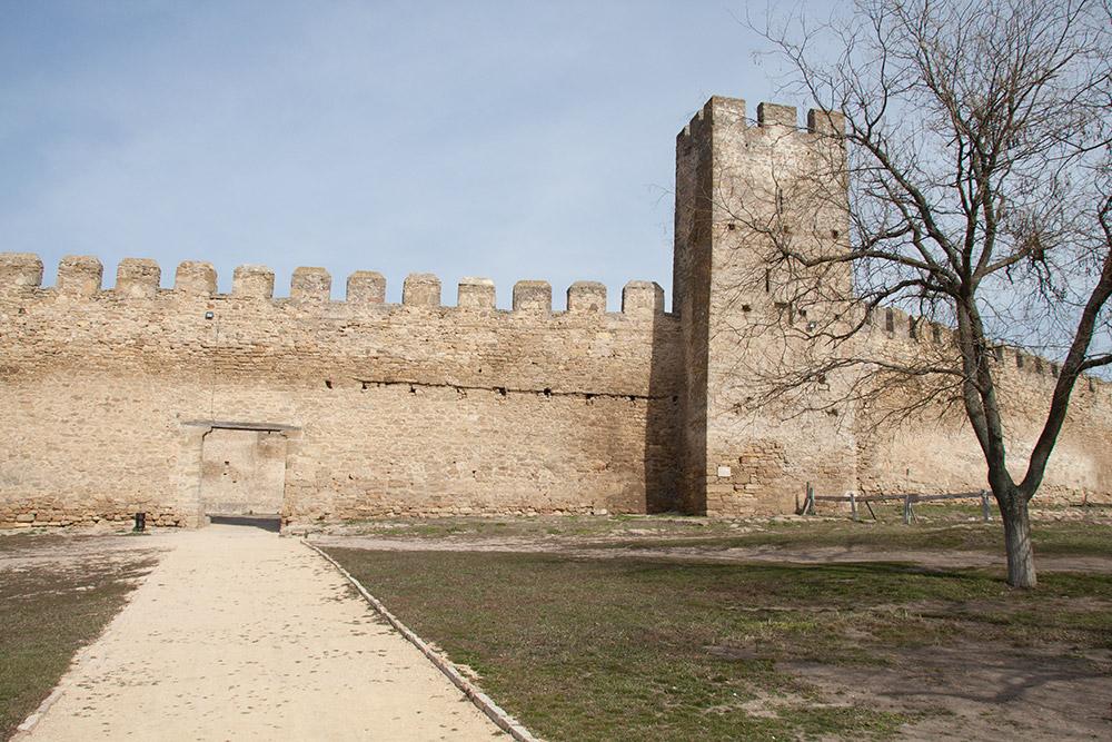 Ворота в гарнизонный двор и сторожевая башня