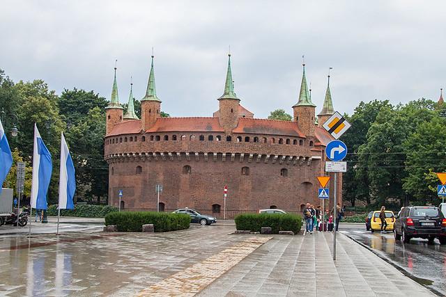 Барбакан в Кракове