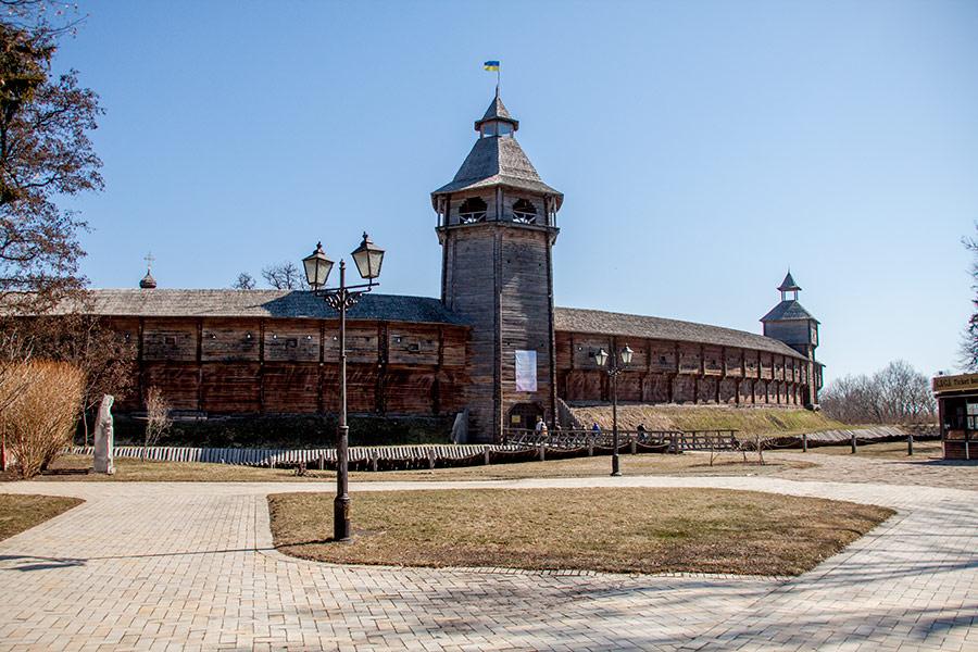 Казацкая крепость в Батурине