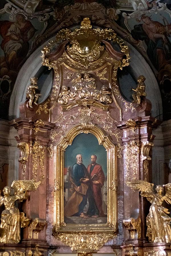 алтарь Святых апостолов Петра и Павла.