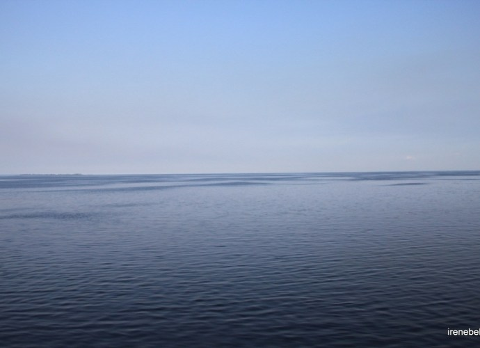 Кременчугское водохранилище и дамба