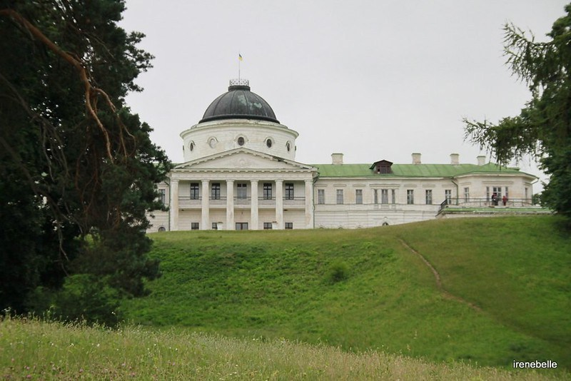 Парк и усадьба Качановка - дворец Тарновских