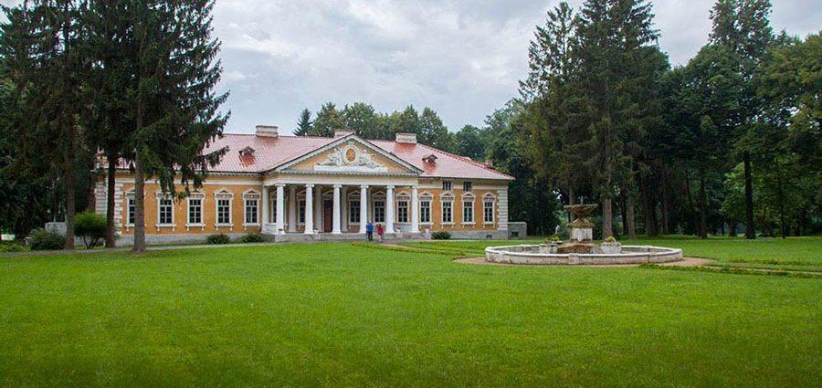 Дворец в Самчиках